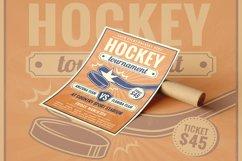 Retro Hockey Tournament - Flyer Poster Product Image 1