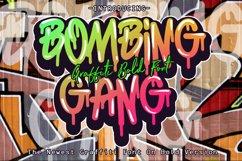 BOMBING GANG GRAFFITI BOLD FONT Product Image 1