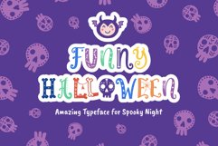 Funny Halloween Font Product Image 1