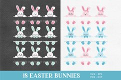 Easter Bunny Face svg png eps Product Image 2