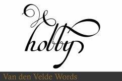 Van Den Velde Words Product Image 1