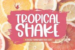 Tropical Shake - A Fun Handwritten Font Product Image 1