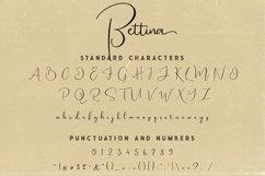 Bettina Script Font Product Image 5