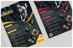 Fitness Flyer Templates Product Image 4