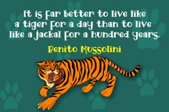 Funky Tiger - Playful Display Font Product Image 2