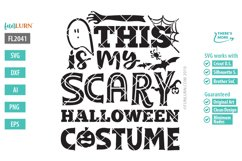 This is My Scary Halloween Costume SVG Cut File Product Image 2