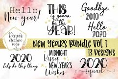 New Years Bundle Vol 1|New Years|SVG Cut File Product Image 1