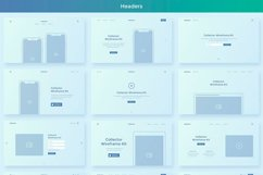 Collector Wireframe Web Kit Product Image 3