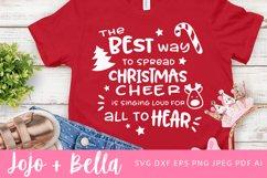 Christmas Svg | Christmas Cheer Svg Product Image 1
