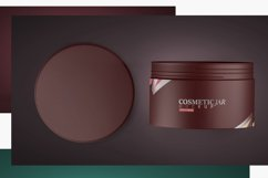Cosmetic Jar Mockup Product Image 6