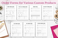 Crafters Business Bundle, Order Forms and Trackers Product Image 3