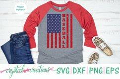 Baseball Flag SVG, DXF, PNG, EPS Product Image 2