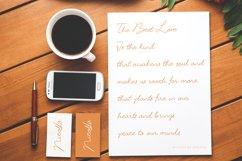 Acrillia elegant signature font Product Image 4
