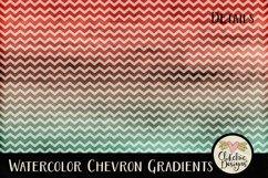 Watercolor Background Textures - Chevron Watercolor Papers Product Image 5