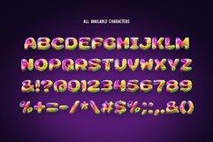 Pixcraft - Color Bitmap Font! Product Image 3