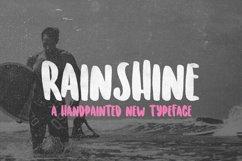 Rainshine Font Product Image 1