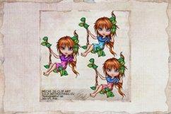 Michi 26 Cute School Swing Clip Art, Sublimation Product Image 1