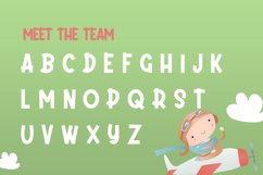 Daydream Kids Font Product Image 5