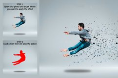 Broken Dispersion Photoshop Action Product Image 3