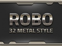 32 Iron Robot Solid Style Product Image 3