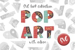 POP ART. SVG font collection. Product Image 1