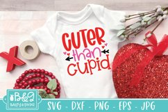 Cuter Than Cupid | Cute Valentine's Day Baby SVG Product Image 1