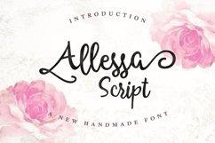 Allessa Script Product Image 1