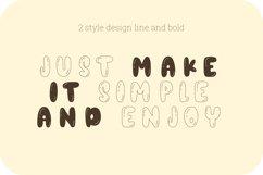 Orange juice playful font Product Image 3