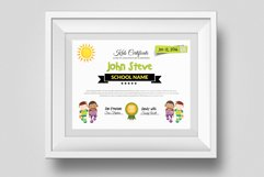 Kid Certificate and Diploma Template Product Image 1