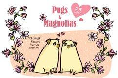 Pugs&Magnolias 29 elements Product Image 1
