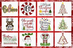 2019 Holly Jolly Christmas Bundle SVG DXF PNG EPS Comm Product Image 3