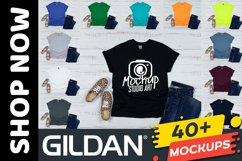 Huge Bundle 555 Mockups, Bella Canvas 3001, Gildan Mockups Product Image 4