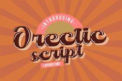 Orectic Script - Layered Product Image 1