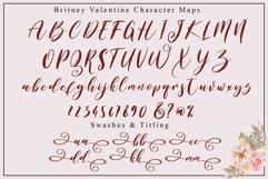 Britney Valentine - WEB FONT Product Image 4