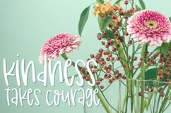 Wildblooms Handwritten Font Product Image 5