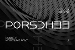 Web Font PORSCHEE Font Product Image 1