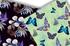 Butterflies Digital Paper.Seamless pattern. Product Image 2