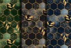 Hexagon patterns. Set of 4 colors Product Image 2