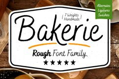 Bakerie Rough Font Family Product Image 1