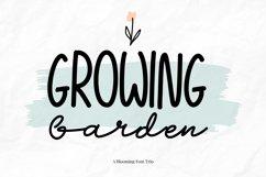 Growing Garden Handwritten Font Trio Product Image 1