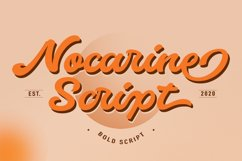 Nocarine Bold Script Product Image 1
