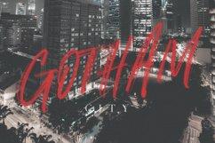 Alosia SVG Brush Font Free Sans Product Image 4