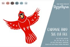 Cardinal Bird SVG / Birds SVG / Canada Forest Cut File Product Image 1