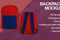 Backpack Mockup Product Image 6