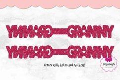 Grandma Key Fob, Grandpa Fob SVG, Granny Leather Key Fob Product Image 2