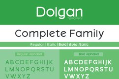 Dolgan Typeface Product Image 3