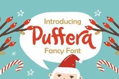 Web Font Puffera - Fancy Font Product Image 1