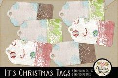 Christmas Tags - Printable It's Christmas Gift Tags Product Image 1