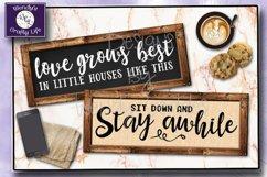 Farmhouse SVG Sign Bundle - 6 SVG & PNG digital files Product Image 2
