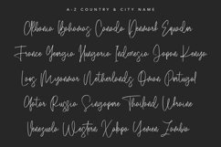Salmander Bentols Script Signature Typeface Font Product Image 3